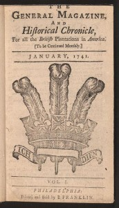 Published in 1741, Ben Franklin's General magazine shut-down after six issues, making it the first example in the U.S. of why there is no future in print magazines.